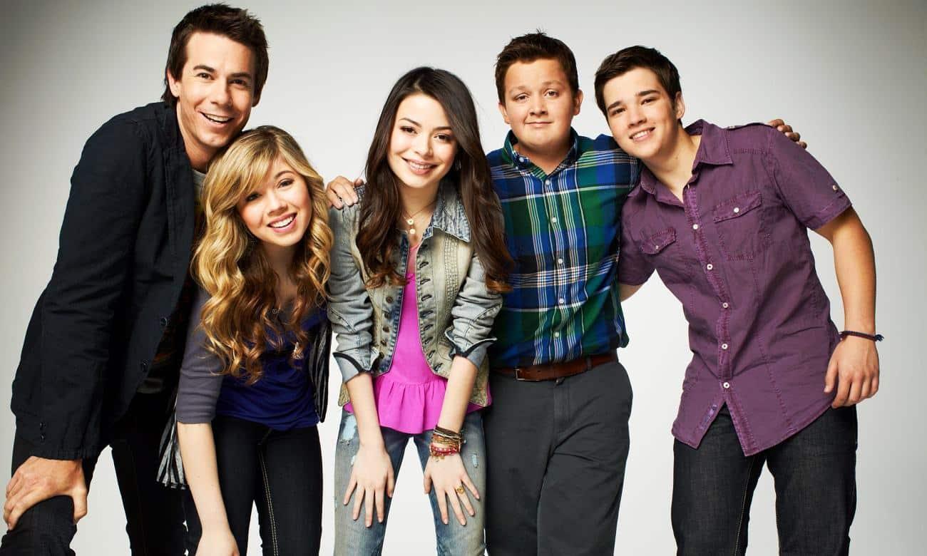 Icarly foi transmitido entre 2007 a 2012 na Nickelodeon