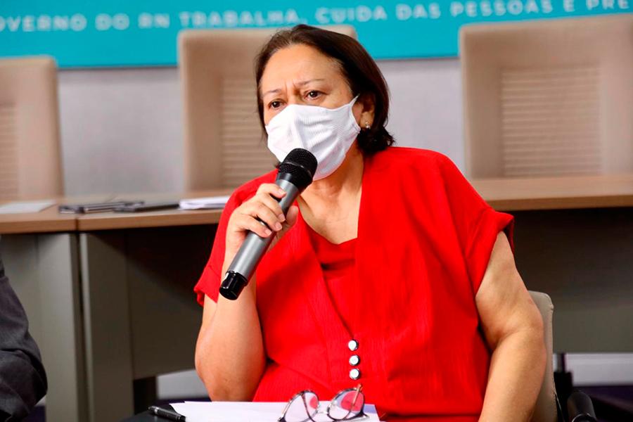 Governadora Fátima Bezerra encaminhou carta ao presidente