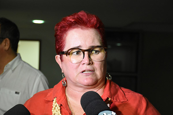 Janeayre Souto criticou decisão anunciada pela governadora