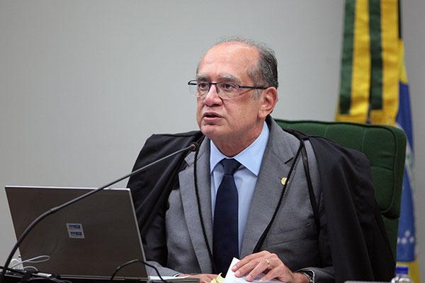 Gilmar Mendes votou a favor do decreto do Governo de SP