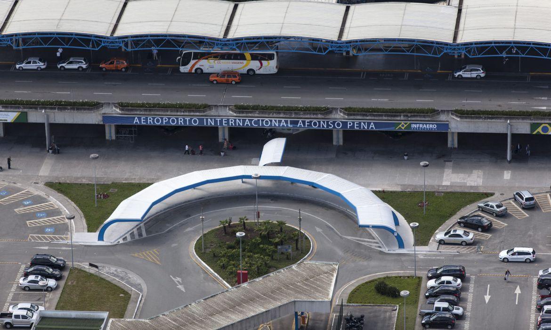 Aeroporto Afonso Pena é um dos que serão leiloados