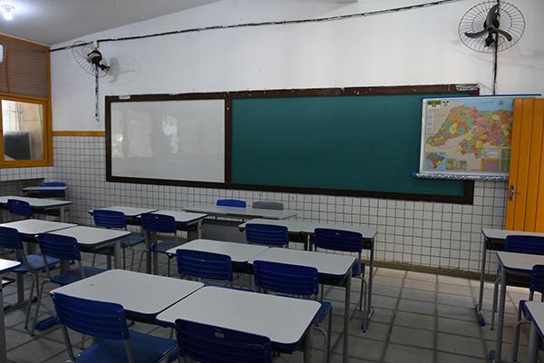 Alunos das redes Estadual e Municipais de ensino em todo o Rio Grande do Norte estão sem aulas presenciais desde março de 2020