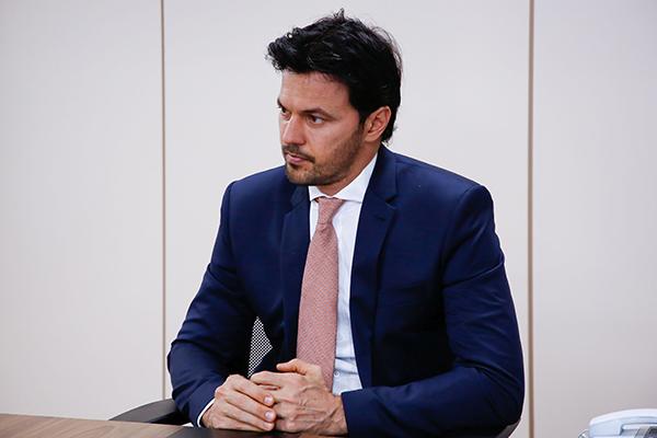 Em breve discurso, o ministro potiguar Fábio Faria destacou que não há desavenças no governo