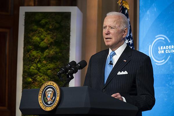 Presidente dos Estados Unidos, Joe Biden argumentou que os investimentos devem colocar pessoas para trabalhar