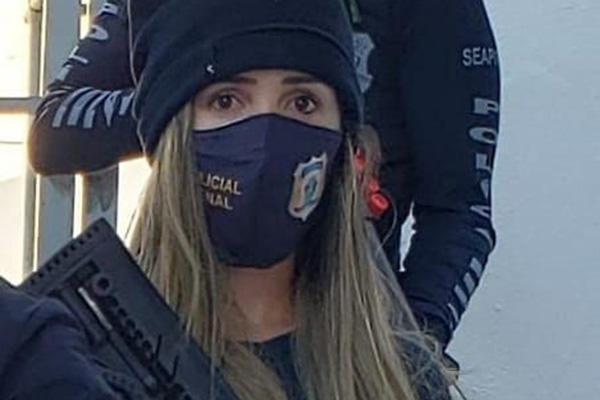 Flávia Roberta estava grávida e passou por cesárea de emergência