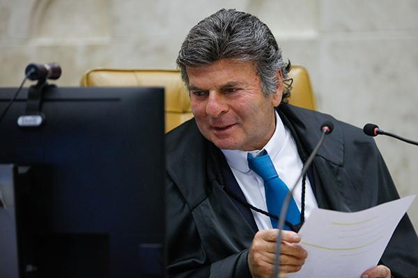 Presidente do STF, Luiz Fux