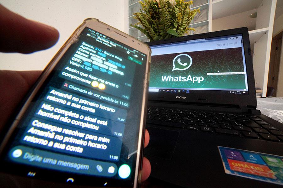 Conversas realizadas via whatsapp também estão resguardadas pelo sigilo das comunicações