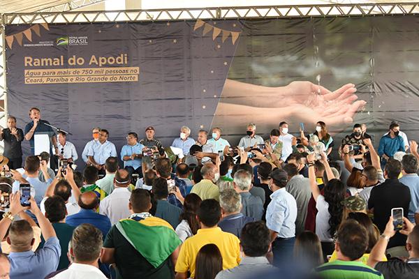 Ordem de serviço para as obras do Ramal do Apodi foi assinada no dia 24 de junho, com prazo de conclusão de 4 anos. Investimento é de R$ 938,5 milhões