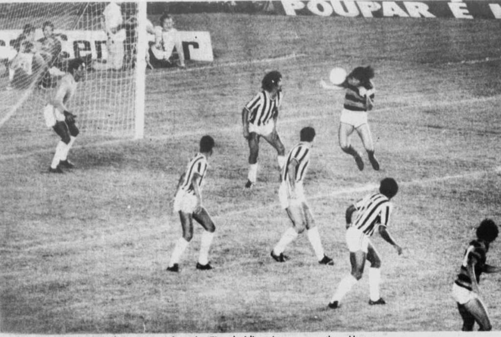 No ano de 1977 o Alvinegro voltou a encarar o time carioca