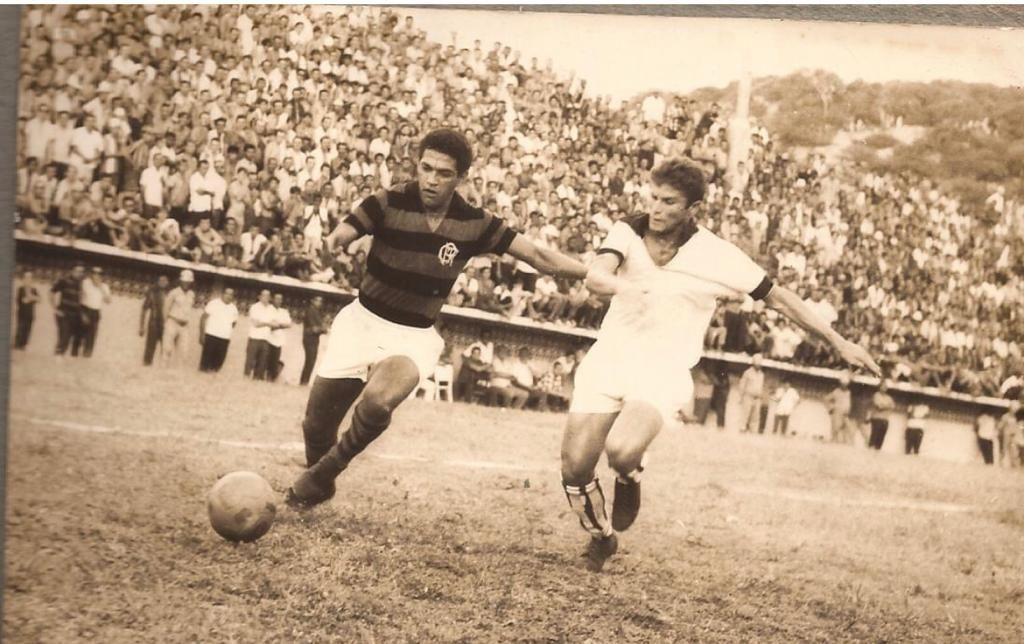 Em 1969, o craque Garrincha jogou pelo Flamengo em Natal
