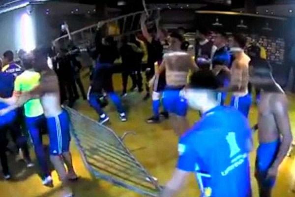 Delegação argentina depredou instalações do estádio e agrediu membros da atleticana