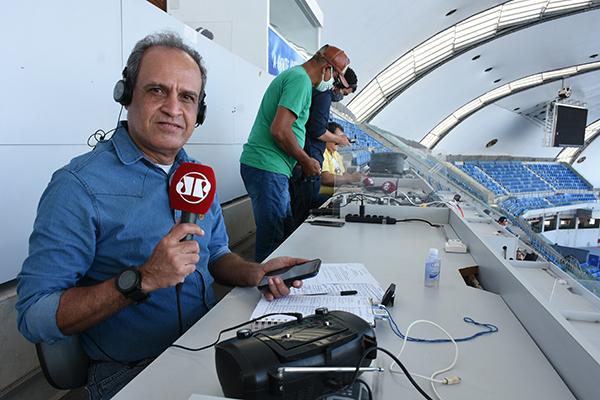 A equipe da Jovem Pan News Natal vai acompanhar tudo de perto no desafio Fla x ABC. O narrador Ivan Nunes estará no estádio Maracanã para contar tudo