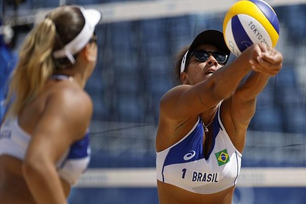 Brasil é eliminado no vôlei de praia