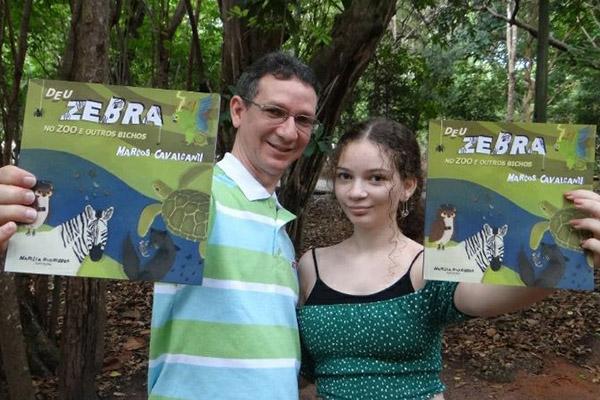 """O autor da obra considera que """"Deu a zebra"""" é o seu livro que mais o tocou sentimentalmente"""