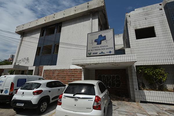 Prédio que abrigou o Hospital Ruy Pereira está sem uso desde que foi devolvido