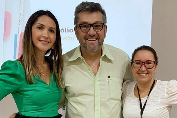 3-REAPRENDENDO Rui Cadete, Juliete Cadete e Ana Cláudia Medeiros iniciam sábado (18) nova turma do Projeto Reaprendendo, com inscrições abertas até hoje  (16)