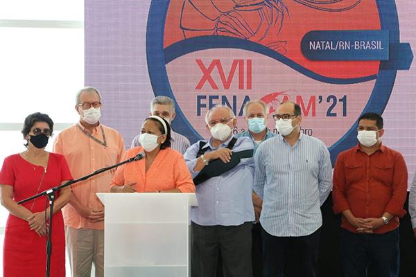 Com apoio do Governo, associações lançaram Fenacam ontem
