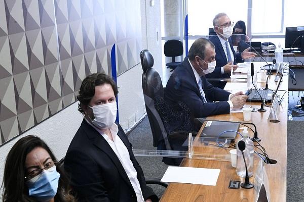 Danilo Trento prestou depoimento na CPI da Pandemia nesta quinta