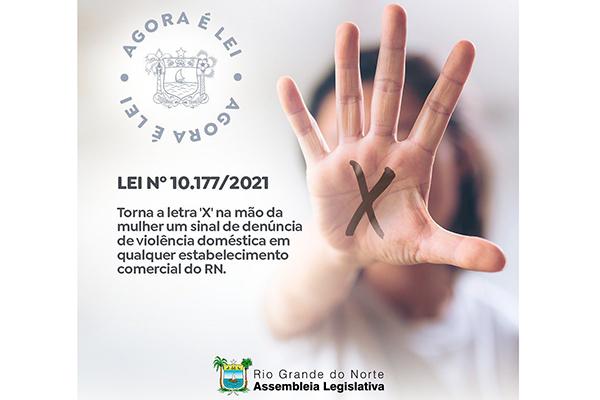 """Letra """"X"""" na mão da mulher é sinal de alerta e de denúncia de violência doméstica"""