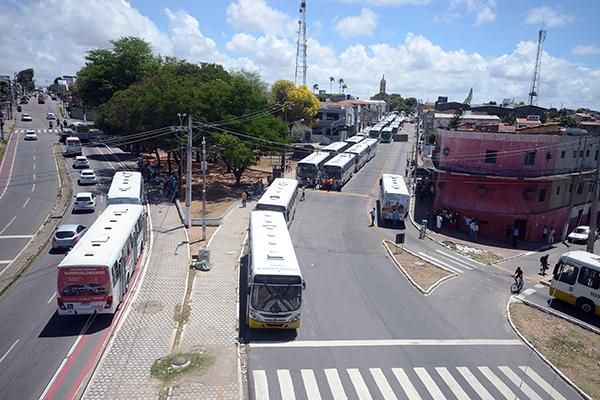 Apesar do anúncio da greve, sistema de transporte funcionou normalmente nesta segunda. Sintro fez paralisação quinta (07)