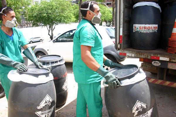 Em todo o RN existem só duas empresas que trabalham com o tratamento de lixo hospitalar