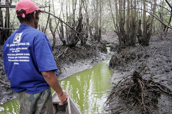 Francisco das Chagas, pescador, lamenta a atual situação do Potengi e das famílias de pescadores