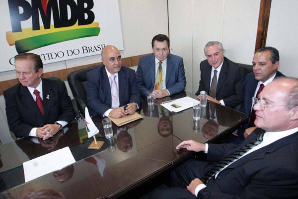 Dirigentes e liderança do PMDB confirmam data da convenção