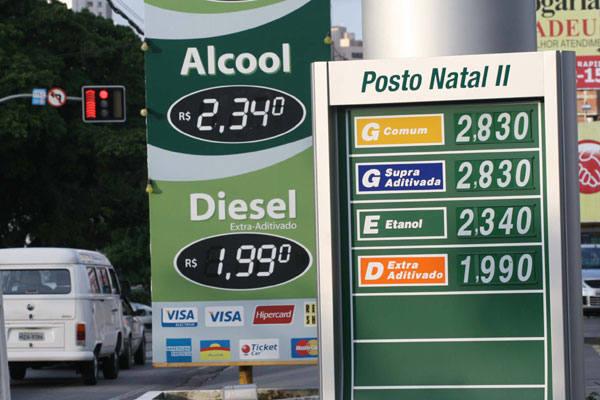 Sindipostos justifica aumento devido a dois reajustes seguidos pelas distribuidoras em 2010