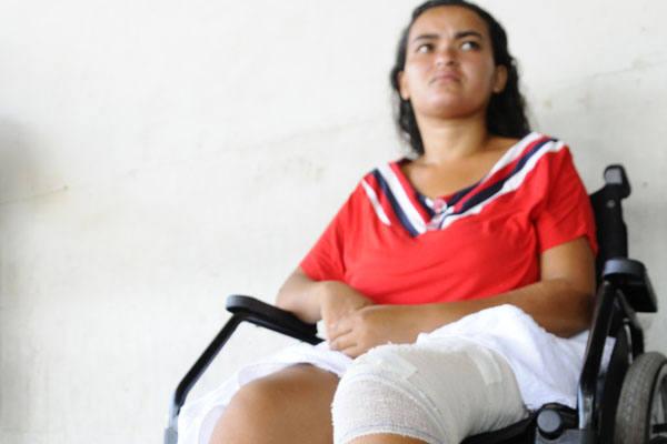 Roseane Felipe da Silva é uma das vítimas liberadas ontem