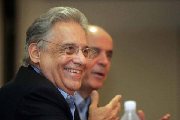 Fernando Henrique destaca experiência de Serra no ministério e no governo de SP