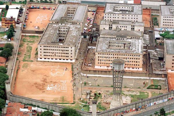 O presídio Carandiru, hoje desativado, foi palco da morte de 111 detentos em 1992, na capital paulista