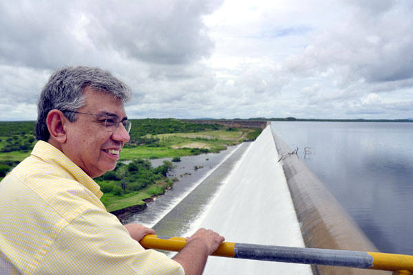 Garibaldi Filho: 40 anos de política; 3,8 milhões de votos e diversas obras duradouras como a barragem de Umari, em Upanema
