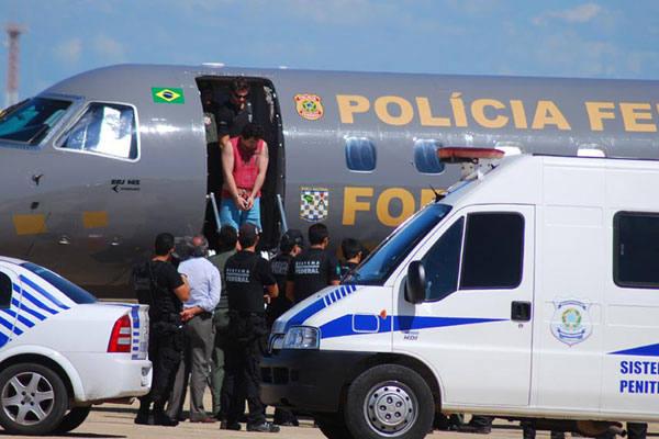 Detentos de Rondônia desembarcaram ontem em Mossoró