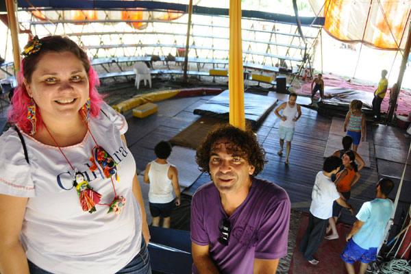 Após representar  o RN na conferência de brasília, a artesã ked mendes e o diretor  do Grock, Nil Moura, se  unem em busca de um melhor futuro para a arte circense  e o artesanato