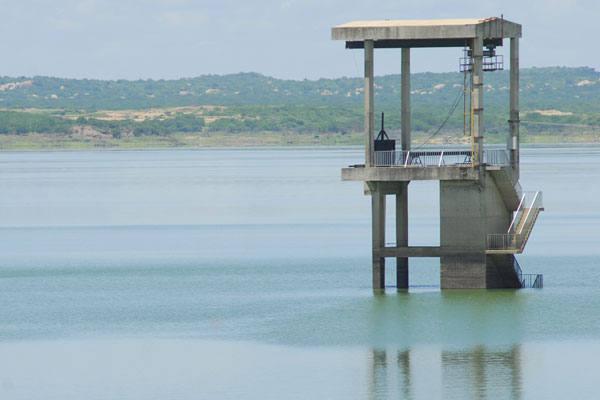 Barragem Armando Ribeiro, em Assu, está com 79,88%. E a última medição foi feita no dia 15/04