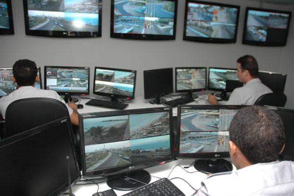 Sistema de câmera já foi  implantado em Natal e o controle está a cargo do Centro Integrado de  Operação