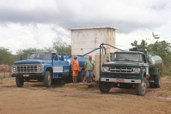 Operação Pipa atende 50  municípios do RN, mas está parado