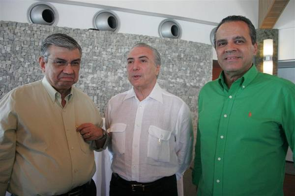Garibaldi Alves, Michel Temer, Henrique Eduardo Alves