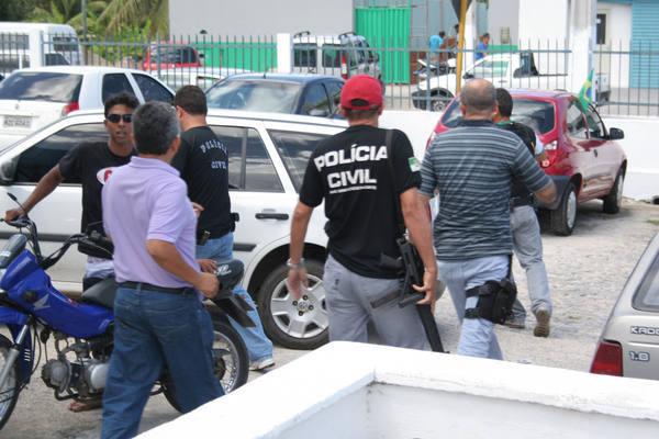 O sequestro movimentou a polícia em Macaíba, que providenciou o fechamento das entradas da cidade