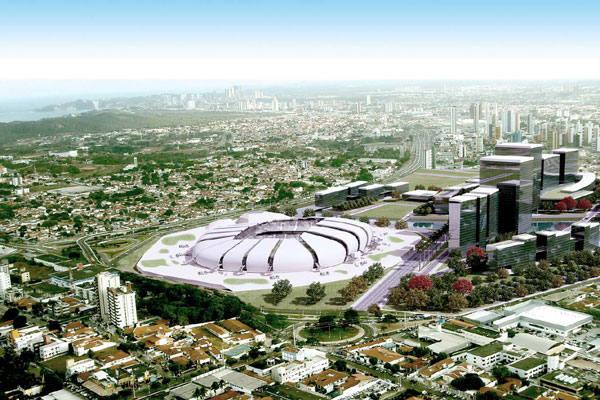 Atraso na construção da Arena da Dunas é o principal problema detectado pelo COL até o momento