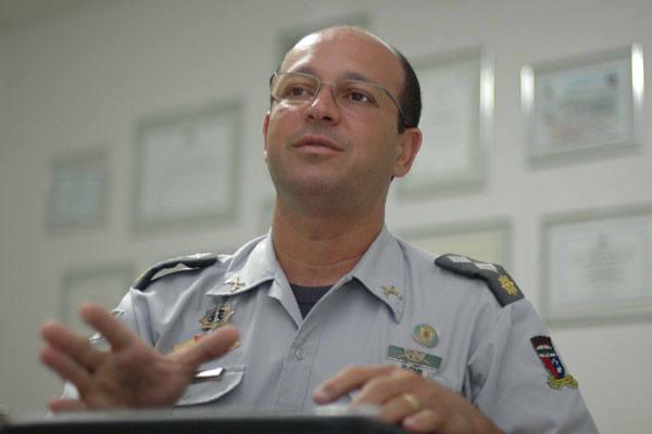 Coronel Alarico Azevedo explica que a manifestação não pode ser impedida sem decisão judicial