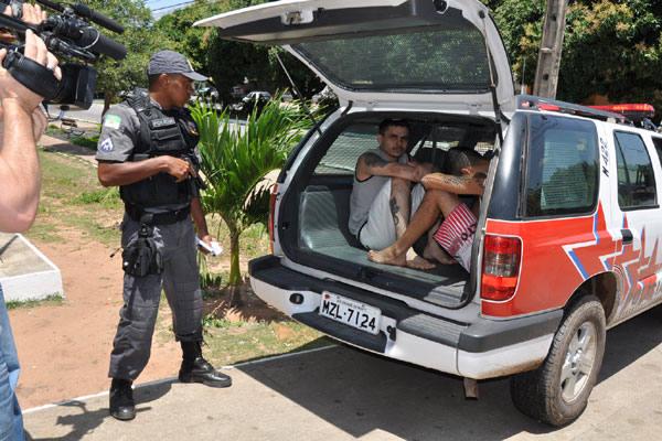 A fuga aconteceu por volta das 10 horas, mas ontem mesmo a polícia recapturou cinco presos