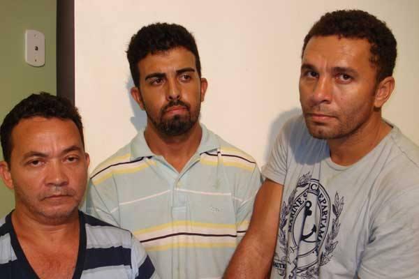 Francisco Evangelista, Renato Oliveira e João Lopes foram presos no Maranhão