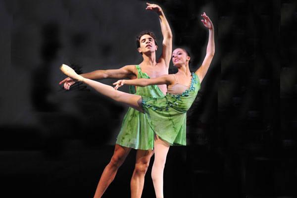 Bailarinos da Cia jovem do Bolshoi no brasil apresentam em natal o balé gala Bolshoi, hoje, no TAM
