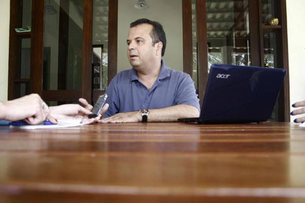 Rogério Marinho em entrevista com a TRIBUNA DO NORTE