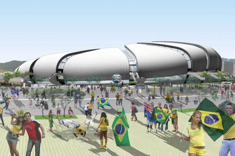 Projeto da Arena das Dunas está orçado inicialmente em R$ 400 milhões, mas ainda se arrasta