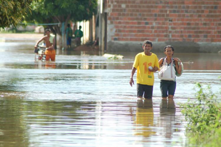 Em 2009 o município de Ipanguassu foi atingido pelas enchentes e muitos ficaram desabrigados