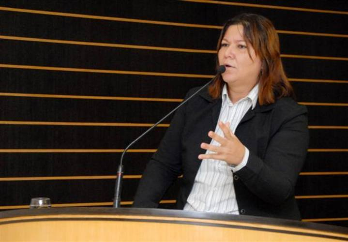 Vereadora Sargento Regina (PDT).