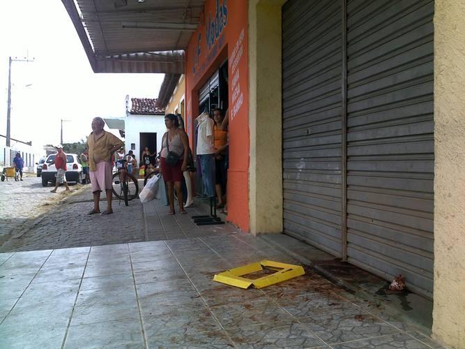 Fachada do Mercadinho Gomes em Novo Santo Antônio, São Gonçalo do Amarante