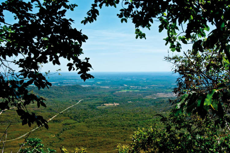 Em sua viagem pelas serras potiguares, Fernando Chiriboga viajou até Portalegre, município da chamada Tromba do Elefante
